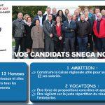 Les candidat(e)s aux élections professionnelles de CA Nord Est