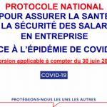 Protocole National COVID-19